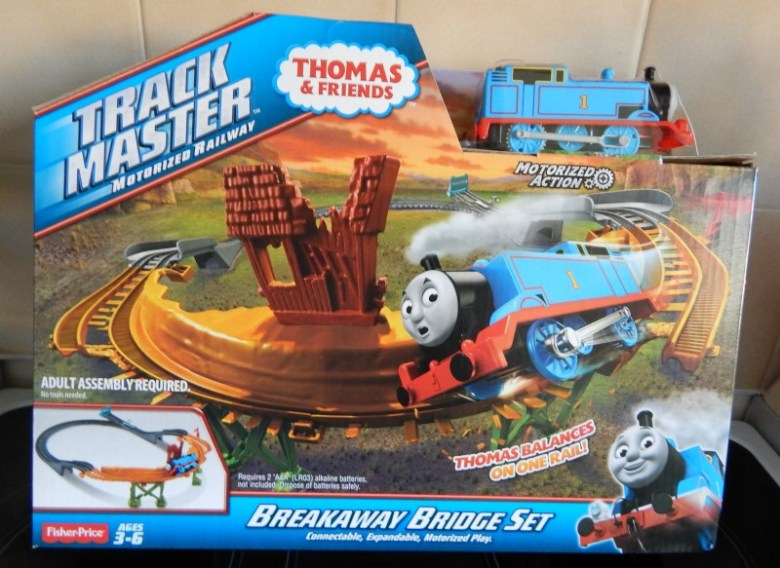 Trackmaster Breakaway Bridge Set