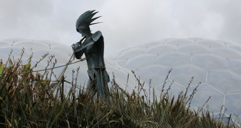 Eden Project Metal Giant