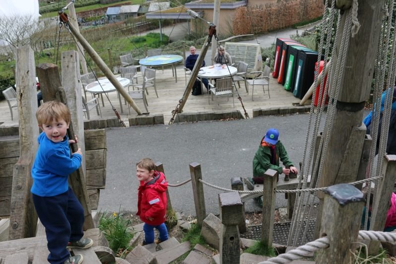Eden Project Pirate Ship play area