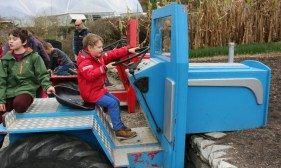 Tractor Riding at Eden Project