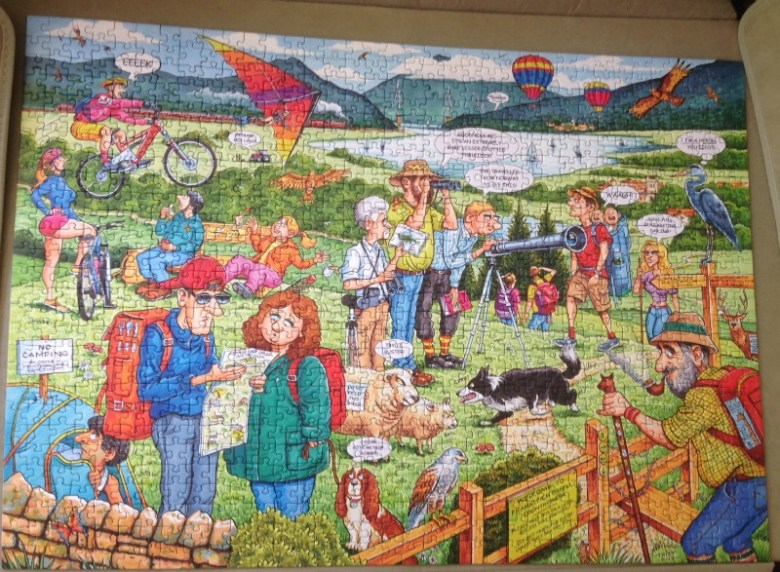 Best Of British - The Country Park 1000 Piece Puzzle