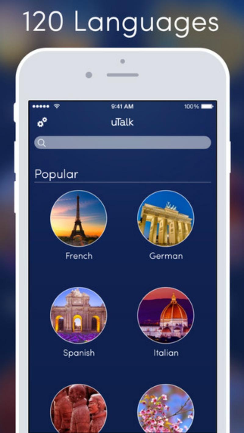 uTalk language app