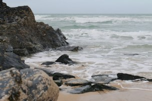 Exploring the beaches of North Cornwall