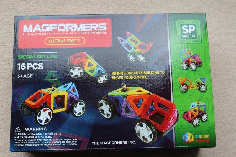 Getting creative with Magformers