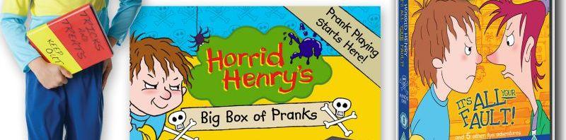 Horrid Henry's Big Box of Pranks