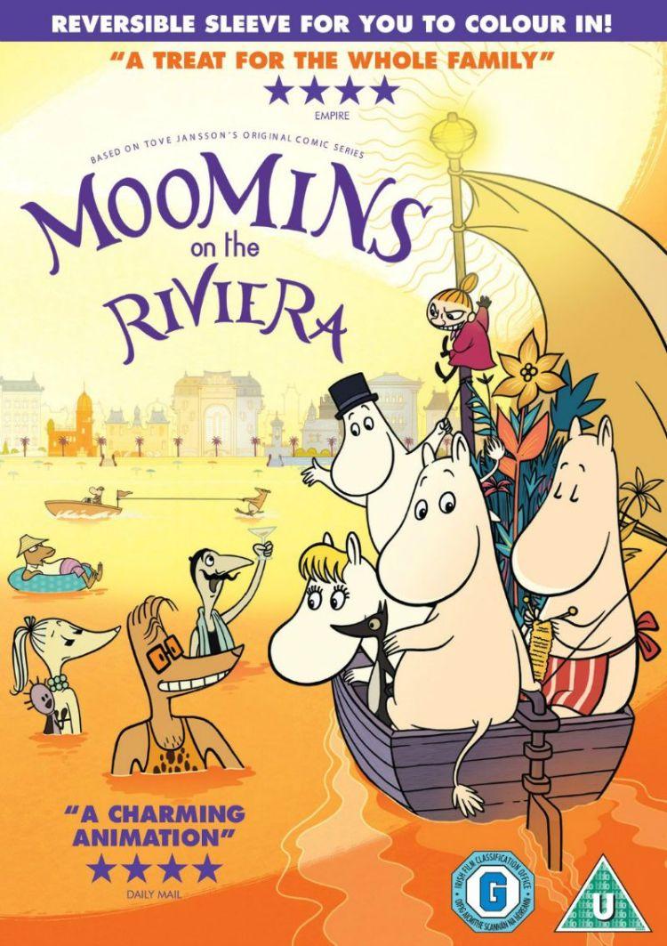Moomins on the Riviera DVD