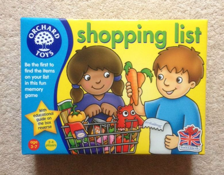 Shopping List has been updated