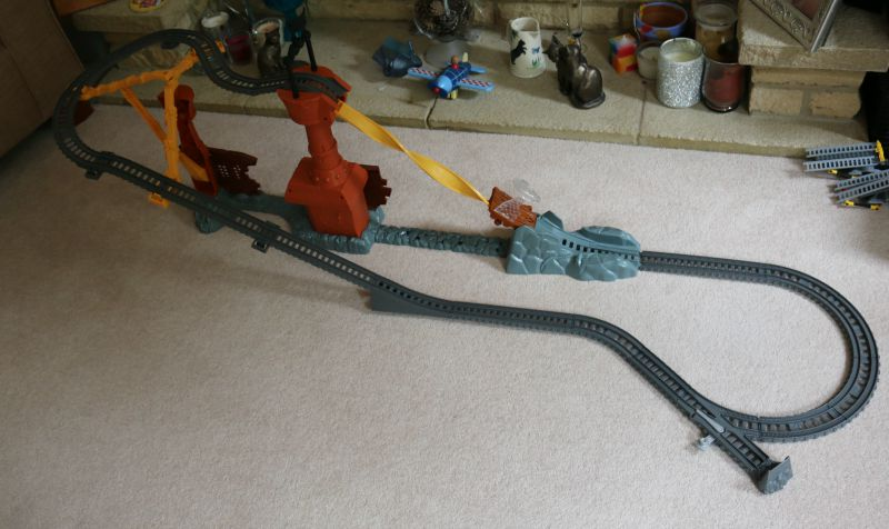 Thomas Friends Trackmaster Thomas Shipwreck Rails Set Over 40