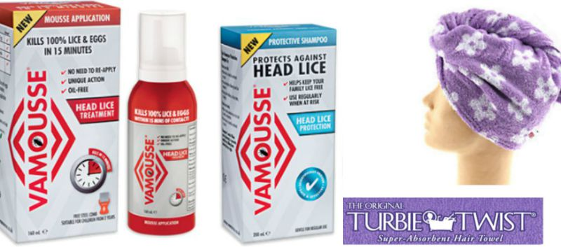 Vamousse to prevent and treat head lice