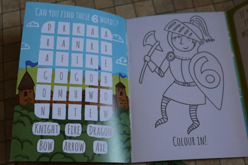 Cardooo Activity Cards at ASDA