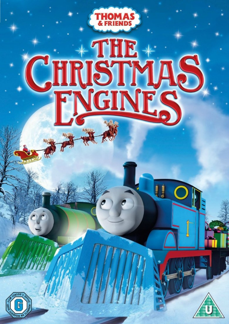 Thomas & Friends The Christmas Engines DVD