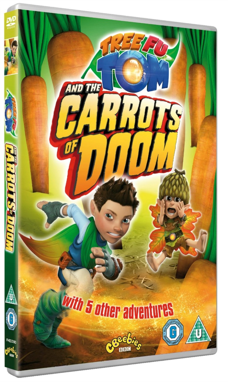 Tree Fu Tom and the Carrots of Doom DVD