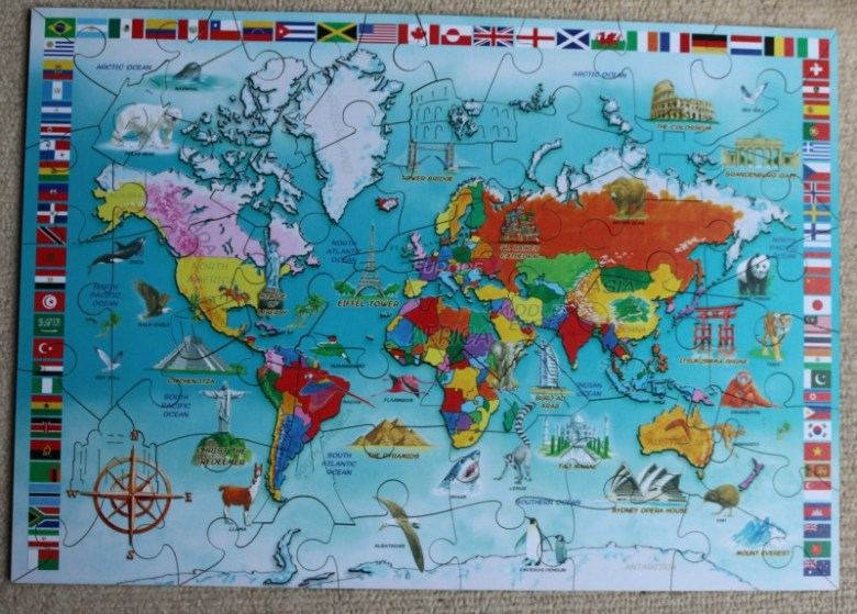 I Know My World Map