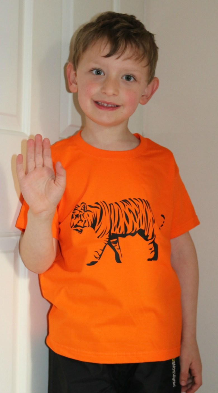 Looking wild in Tiger Prints