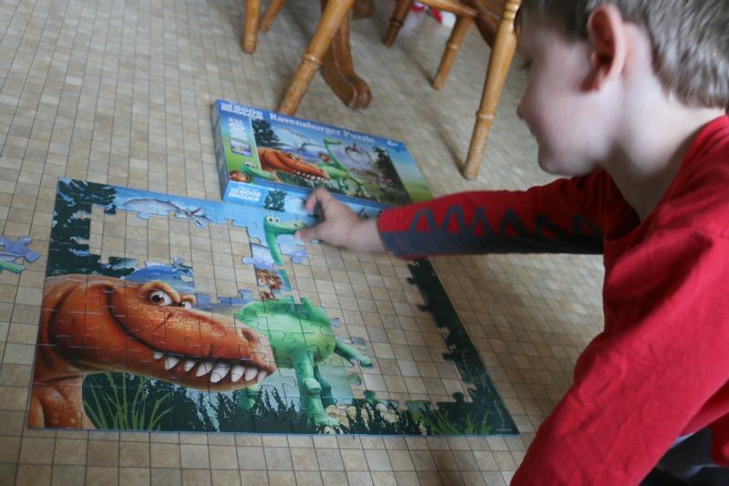 Ravensburger Disney's The Good Dinosaur puzzle