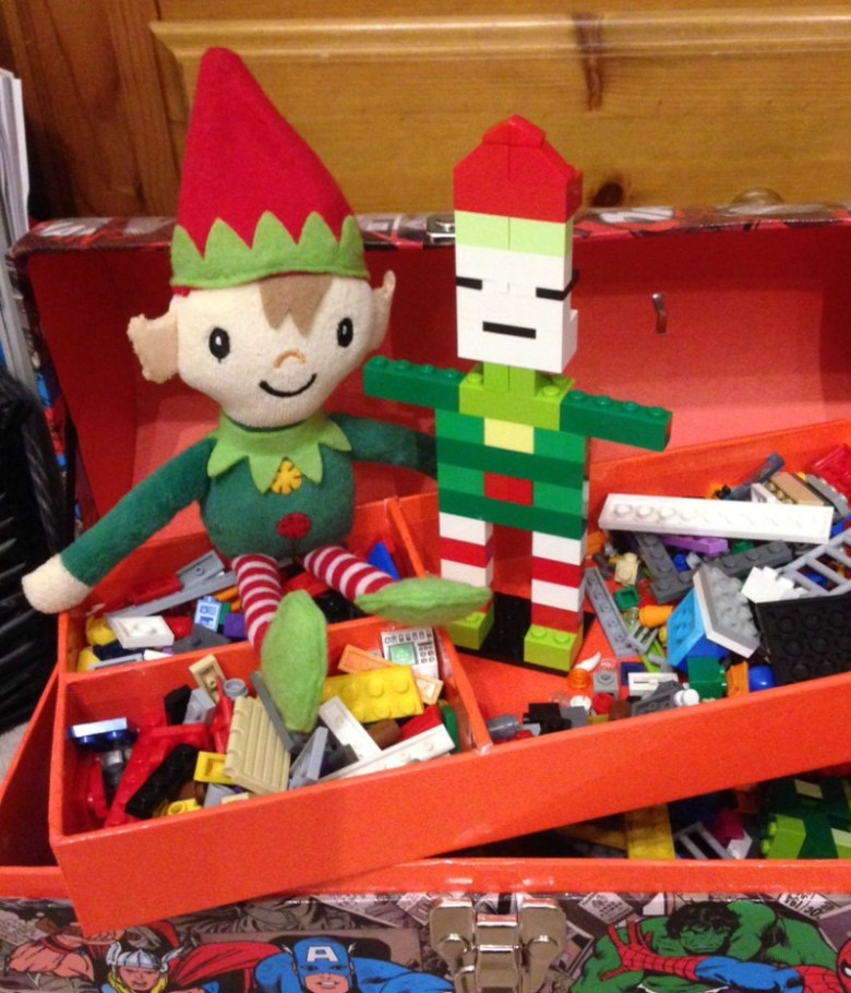 Berry the Elf in 2015 #elfontheshelf