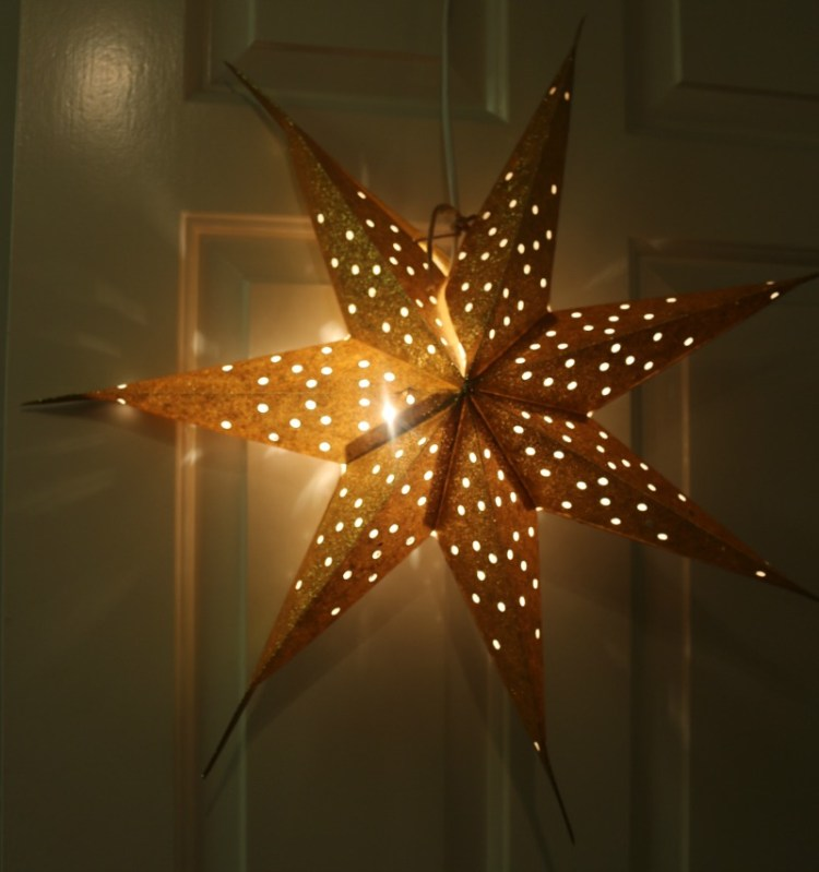 Christmas stars from Jackie K