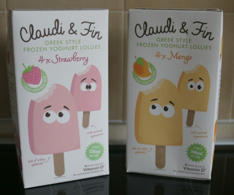 Claudi & Fin Yoghurt Lollies