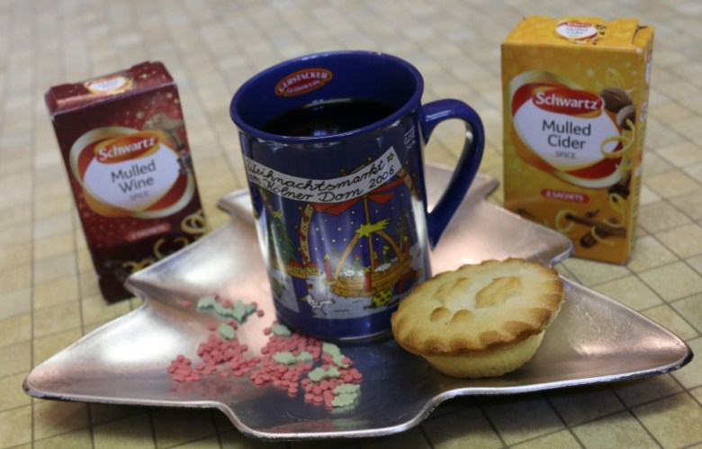 Mulled Wine and Cider spice mixes from Schwartz