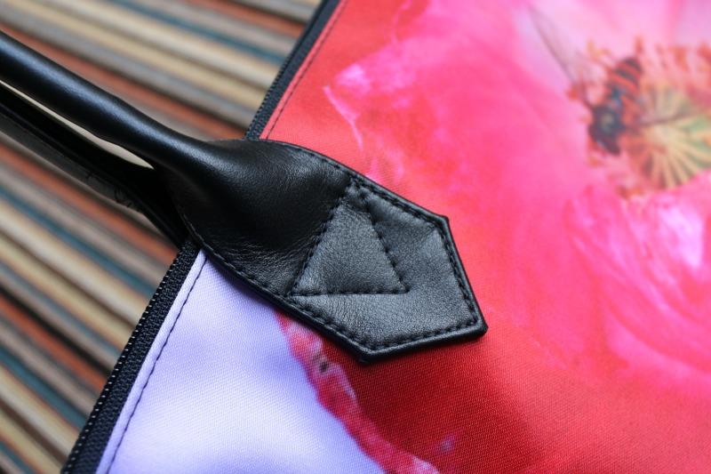 bag strap on Personalised Zip Top Bag