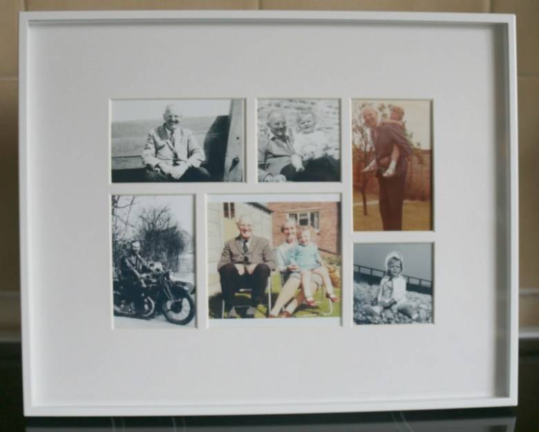 Habitat photo collage frame