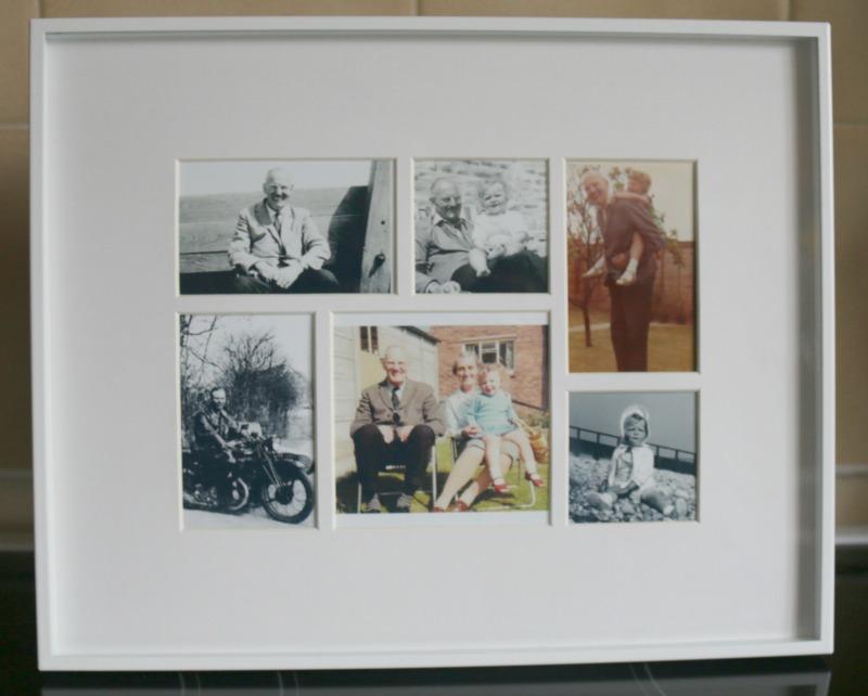 Habitat photo collage frame