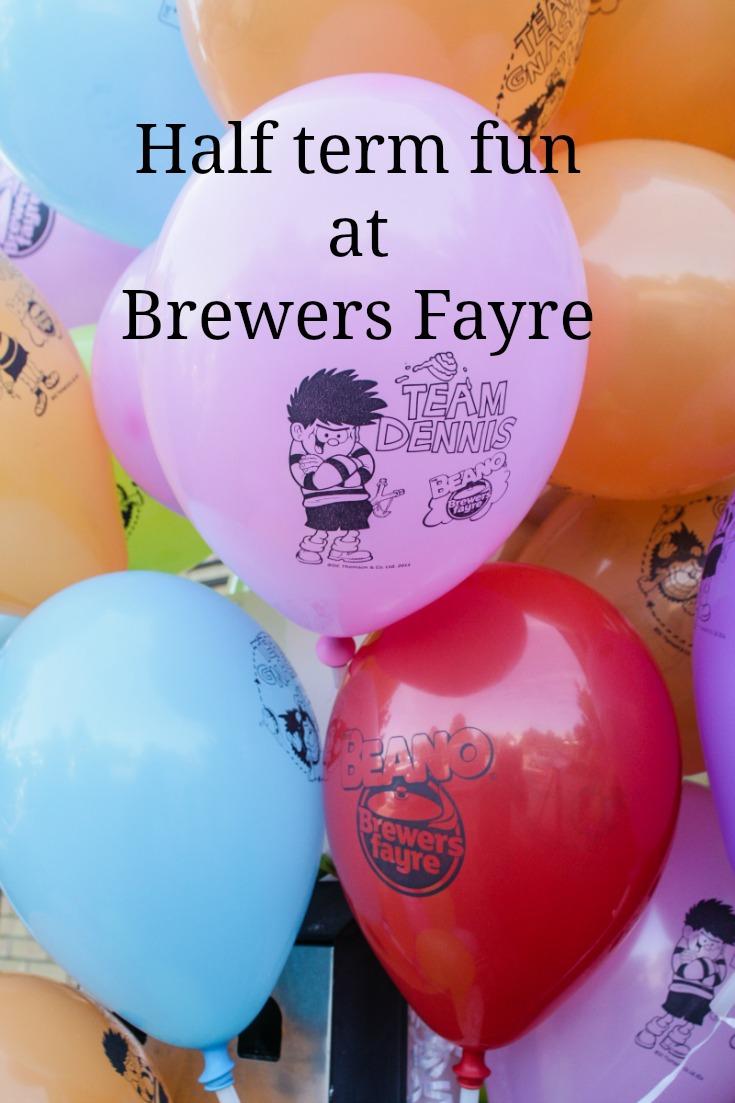 Half term fun at Brewers Fayre