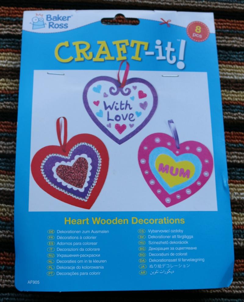 Valentines Wooden Heartd