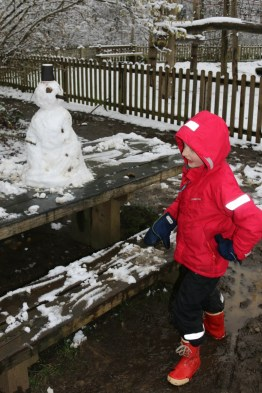 Salcey Forest Snowman