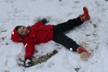 Salcey Forest Snow Angel