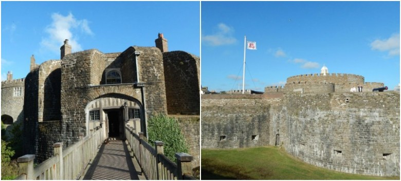 A tale of two castles in Kent