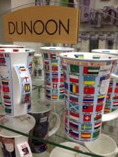 Flags of the World on a mug