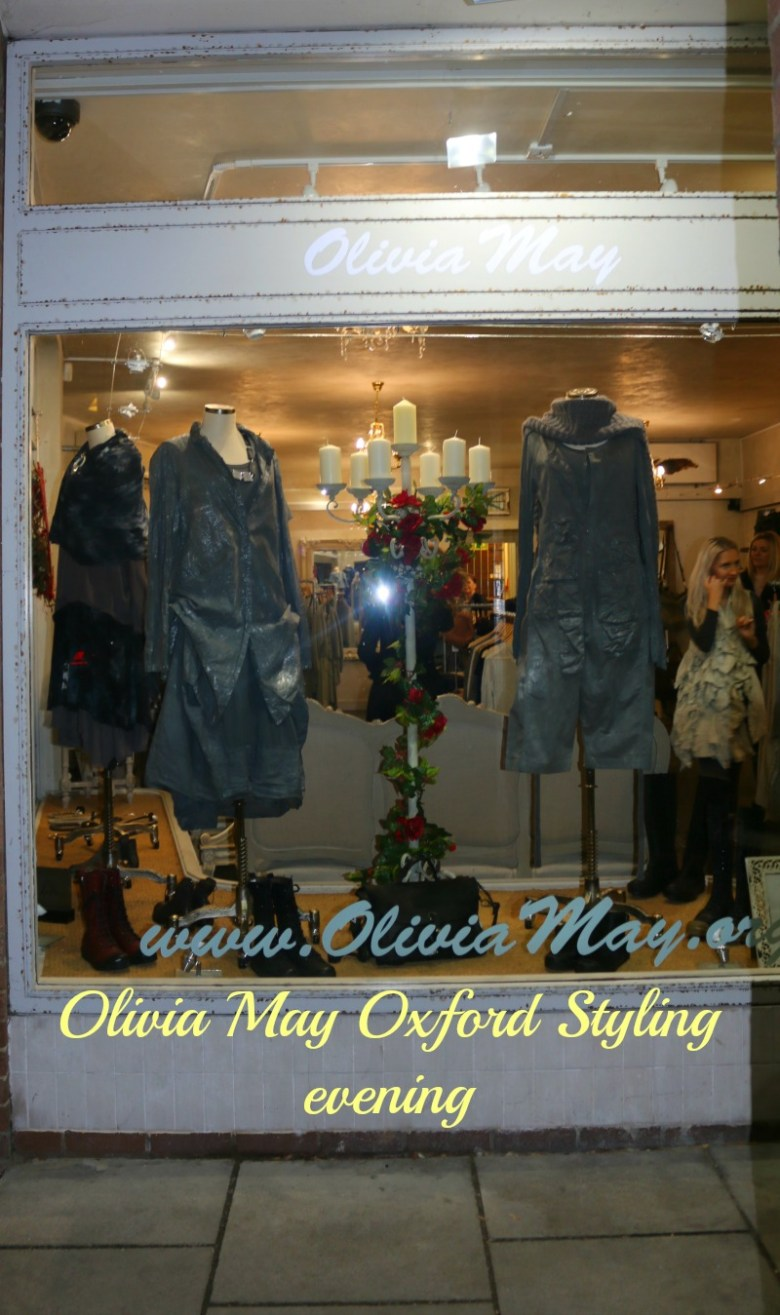 Olivia May Oxford Styling evening