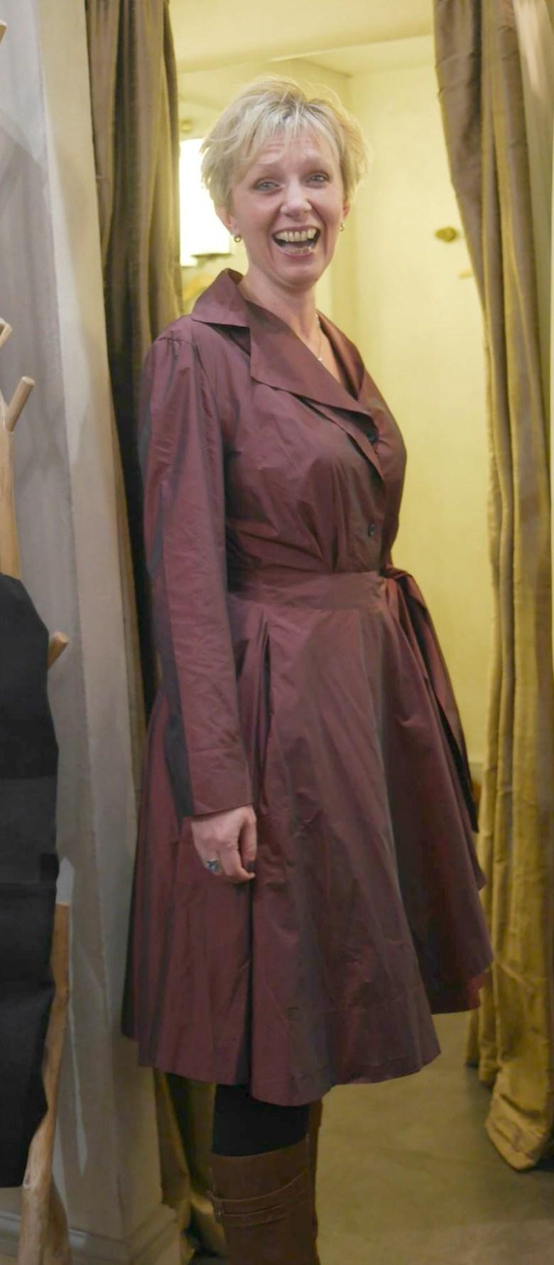 Olivia May Coat Dress AW15
