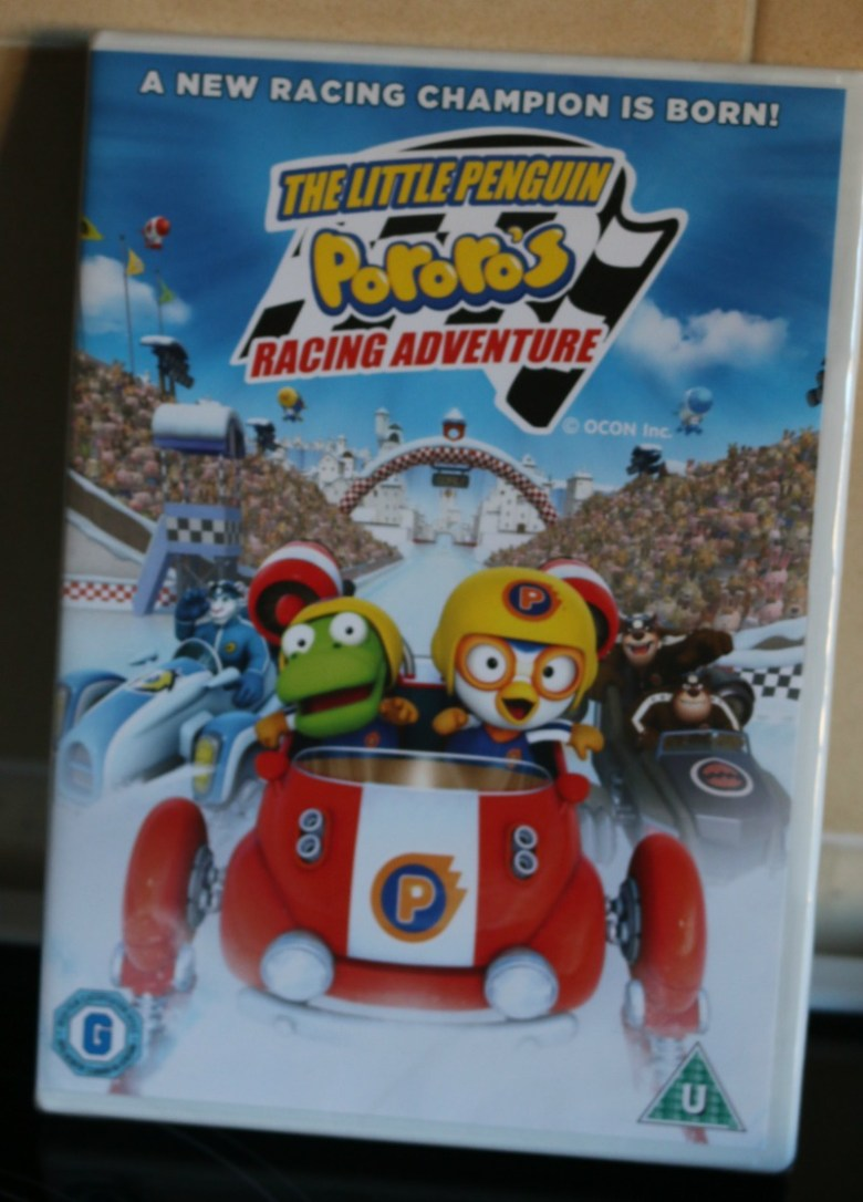 The Little Penguin: Pororo's Racing Adventure DVD