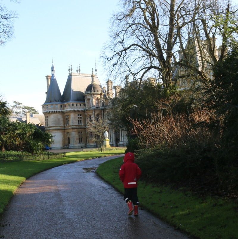 Waddesdon Manor house