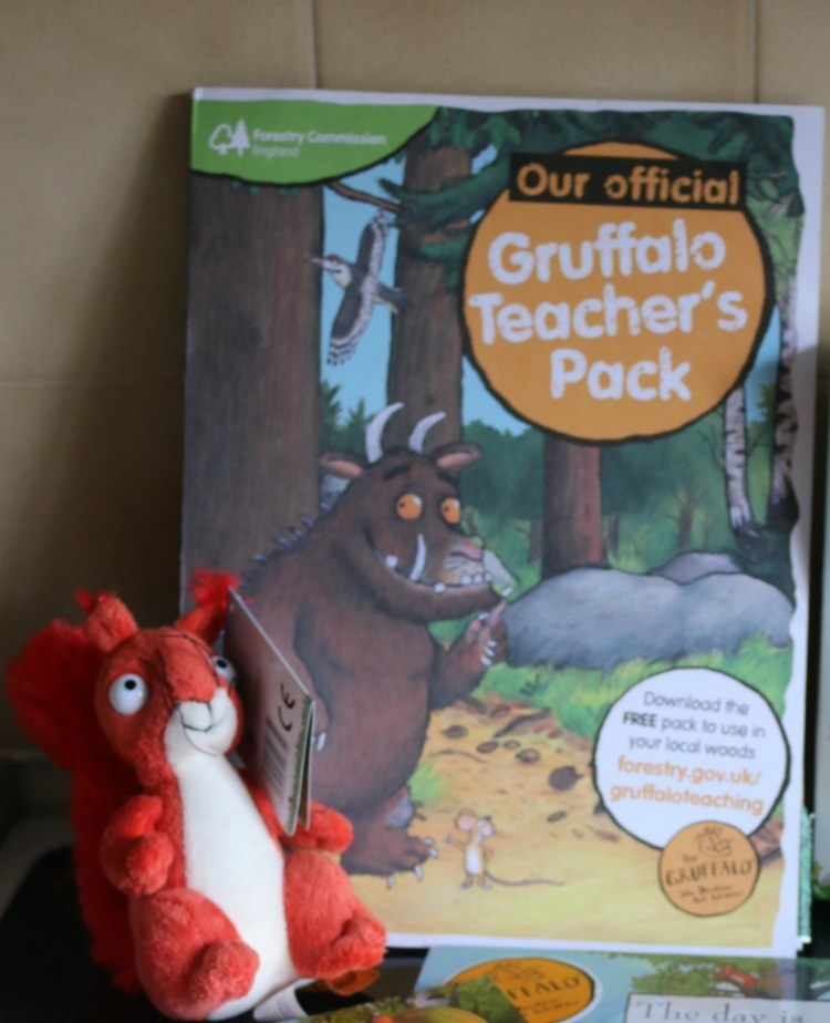 Gruffalo Teachers Pack from the Forestry Commission