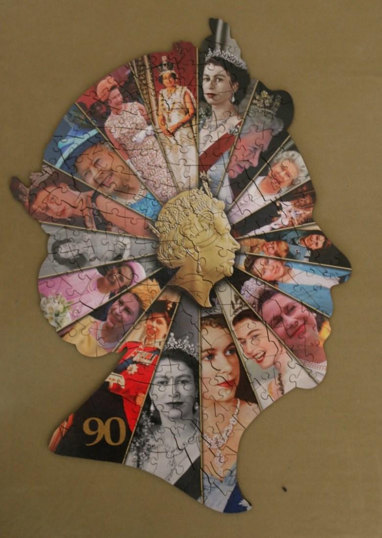 Queen Elizabeth II 90th Birthday Souvenir puzzle