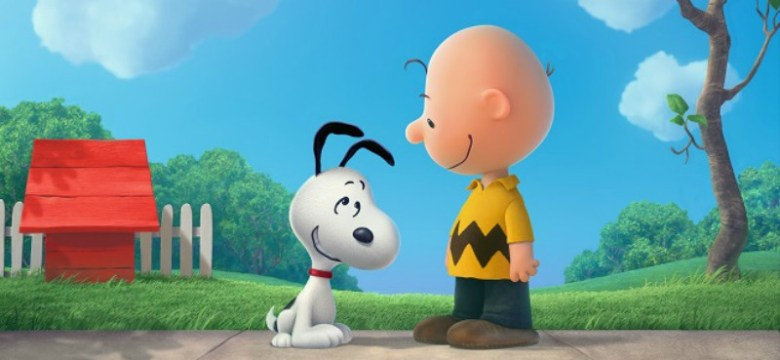 Snoopy and Charlie Brown: The Peanuts Movie DVD