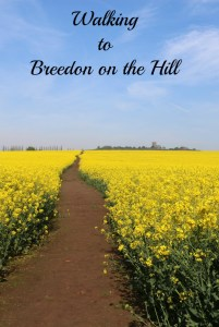 Walking to Breedon on the Hill