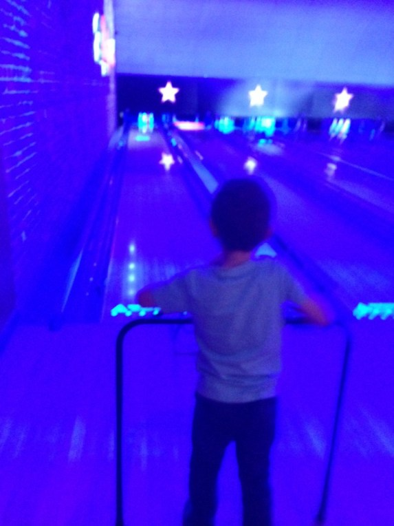 A family trip to Hollywood Bowl Oxford 4