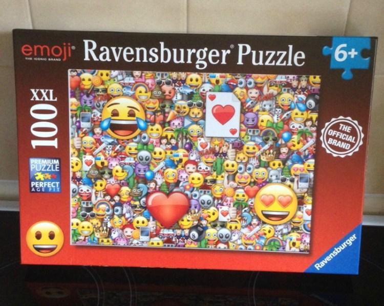 Emoji XXL100 pc puzzle from Ravensburger