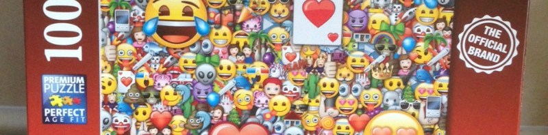 Emoji XXL100 pc puzzle from Ravensburger