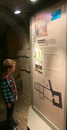 Exploring Oxford Castle Unlocked with a not so timid child