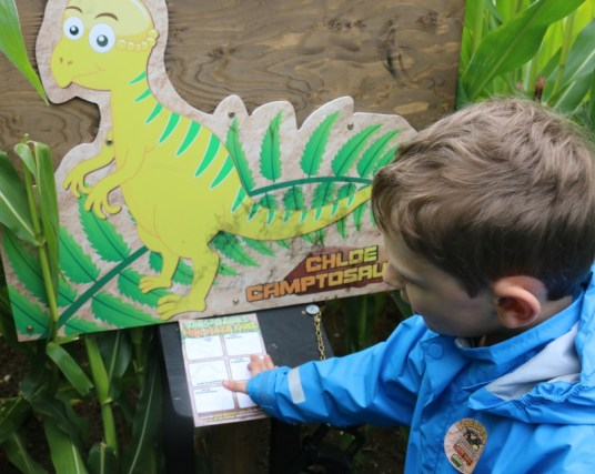 A day spent tracking dinosaurs in Staffordshire