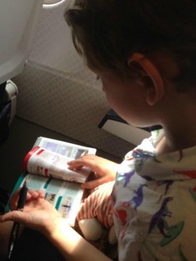 Entertaining children with i-SPY books