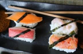 Introducing children to Sushi with Yutaka