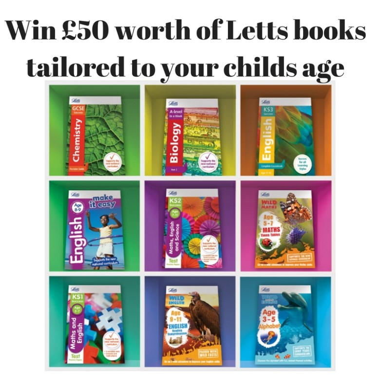 Win £50 worth of Letts books tailored to your childs age