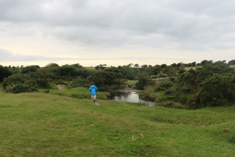 Enjoying a walk on Bodmin Moor