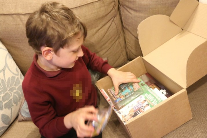 A surprise delivery from Kids Parcel